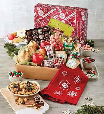 Deluxe Happy Holidays Gift Box